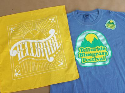 Telluride Bluegrass Festival Merch Design