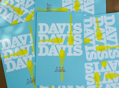Davis Davis Davis LE Poster
