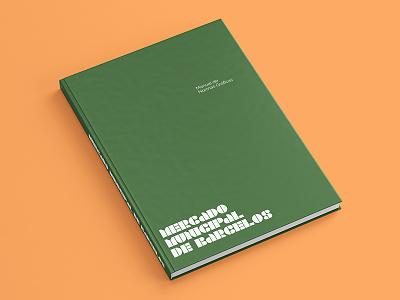 Barcelos Municipal Market — Brand Guideline Manual stencil typography branding design identity book manual