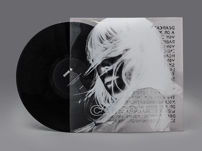 Dear Sir. by Cat Power — LP Redesign power cat grey dark black grunge lp disc vinyl music packaging