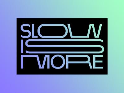Show Is More — Workshop Logotype adaptable versatile grid geometric dynamic gradient typography branding logotype
