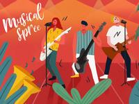 Musical spree