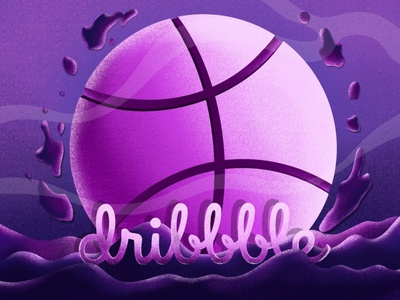 Dribble poster art post dribbleartist dribble logo digitalart animals adobe illustrator illustraion brush procreate art