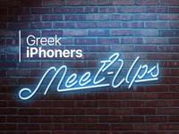Greek iPhoners Meet-Ups Promo Material