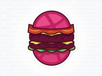 The Dribbble Bacon Cheesebbburger