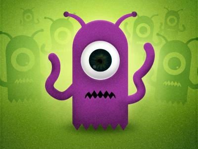 Alien character danflynndesign