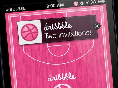 Two Dribbble Invitations Giveaway!