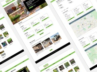 Ewing Landscape Materials Website webdesign visual design ui graphic design