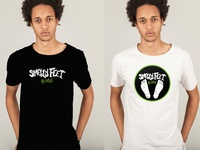 T-shirt design - Smelly Feet Records