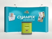 Event booth for Champix - Pfizer
