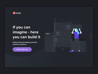 8Base - Landing Page Concept