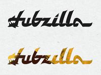 Dubzilla logo explorations