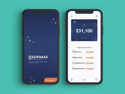 Sofimas WIP / Prototype branding application app clean ui graphic design ui design