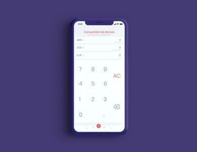 Calculator #DailyUI 004