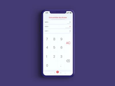 Calculator #DailyUI 004 clean calculator design ui design ui