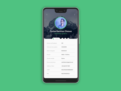 User Profile  #DailyUI 006