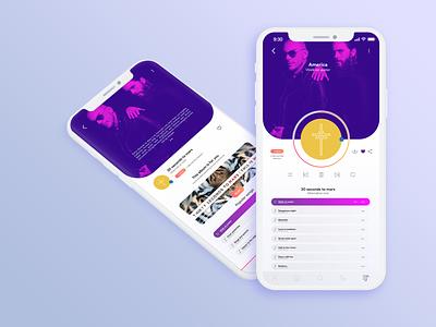 Music Player #DailyUI 009 app graphic design design ui  ux ui design