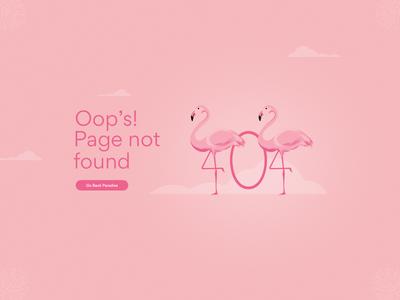 404 Page #DailyUI 008