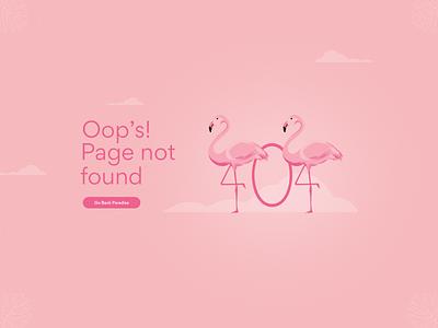 404 Page #DailyUI 008 illustration clean graphic design design ui  ux ui design