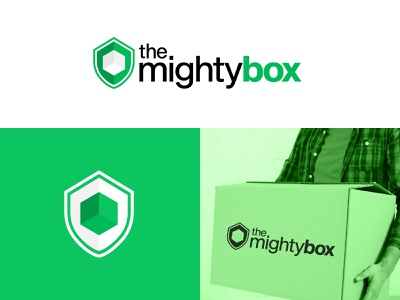 the mighty box logo dailylogochallenge logodesign minimalist branding design branding