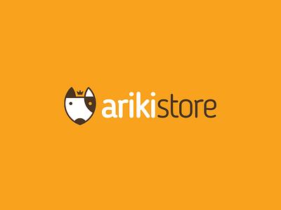 Ariki Store store brand pet petstore branding logo design