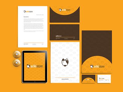Ariki Store graphic design store petstore pet logo design branding brand