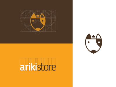 Ariki Store store petstore pet logo design branding brand