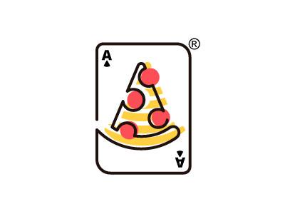 Pizza Logo pizza food graphic design logo brand
