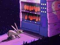 Vender carrot machine