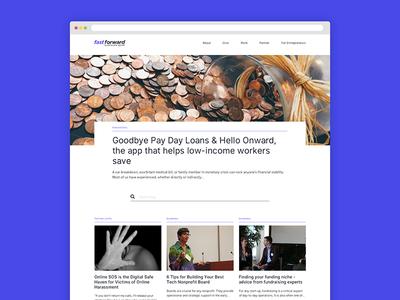 Non Profit Org - Blog WIP