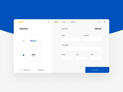 IKEA Credit Card Checkout
