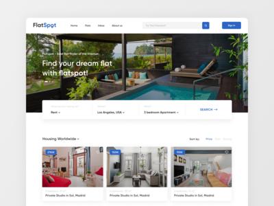 FlatSpot — hotel search