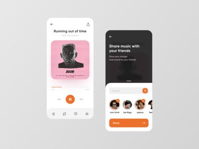 Music Share UI