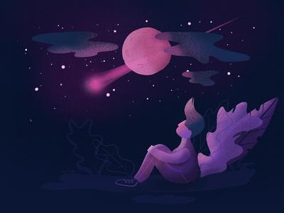 Watching stars