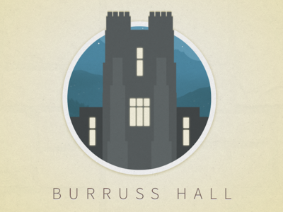 Burruss Hall Icon