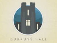 Burruss Hall Icon
