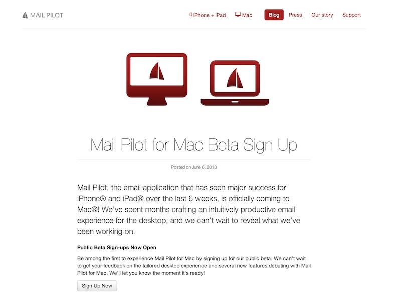 Redesigned Our Wordpress Blog blog redesign weblog theme mail pilot app email website site company wordpress mindsense
