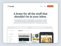 Website Redesign clean throttle redesign website