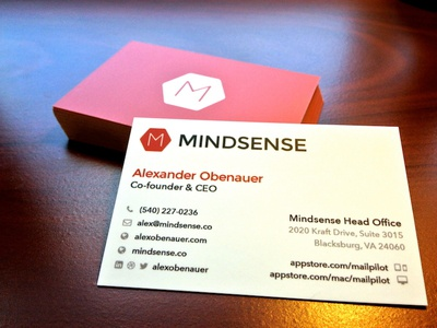 Finished Product - Business Cards