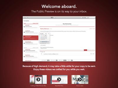 Public Preview download landing page