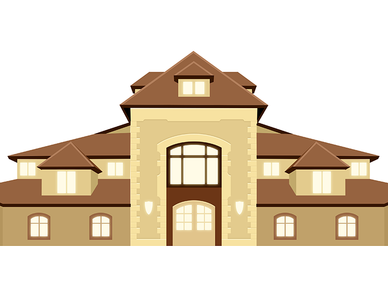 Chateau dribbble
