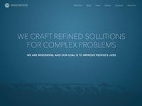 Mindsense Website Redesign