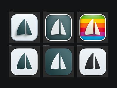 Big Sur Mail Pilot icons sails mail pilot macos icon big sur