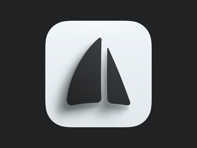 Classic sails icon mail pilot email sails ios icon