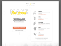 Make a Mark Redesign
