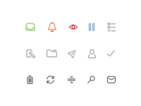 Custom icon set for Mail Pilot 3