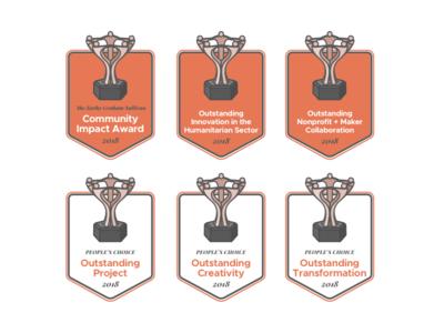 Make a Mark Award Badges (The Markies!)