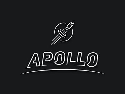 Evolution of Apollo brand logo typography identity branding brand mark apollo
