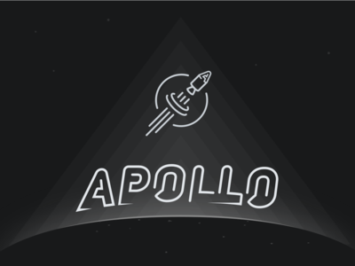 Zodiacal light poster with Apollo brand