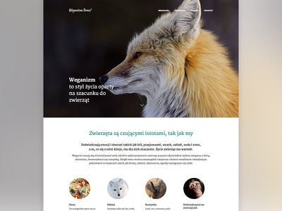 Vegan Website lowprofile vegan website merriweather responsive clean flat web